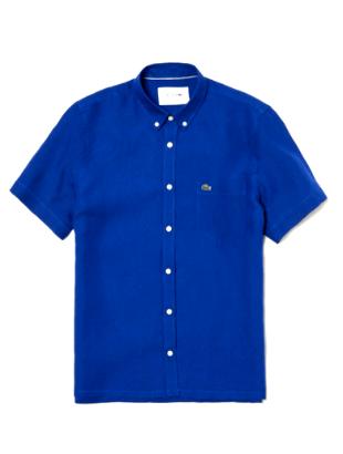 Мужская рубашка 100 % лен